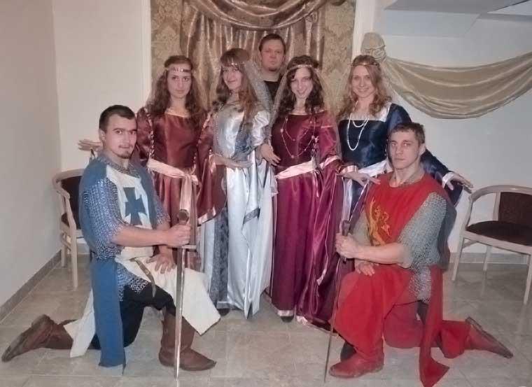 костюмированная тематическая вечеринка