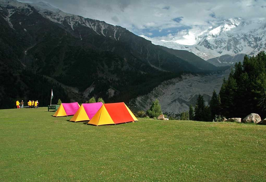 День рождения на природе « В палатках»
