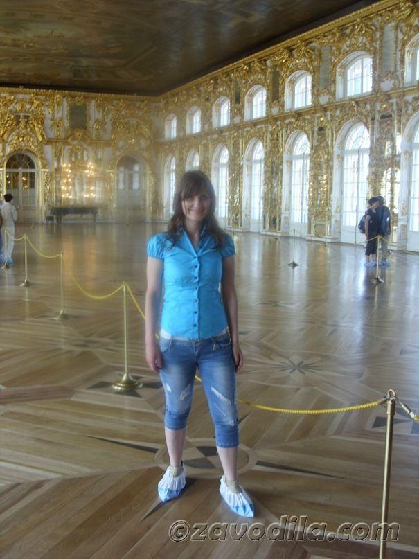 город Пушкин, Екатерининский дворец, Царское село