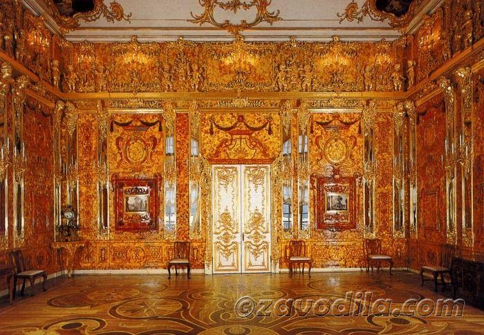 Путешествие в другой мир: город Пушкин, Екатерининский дворец, часть 1