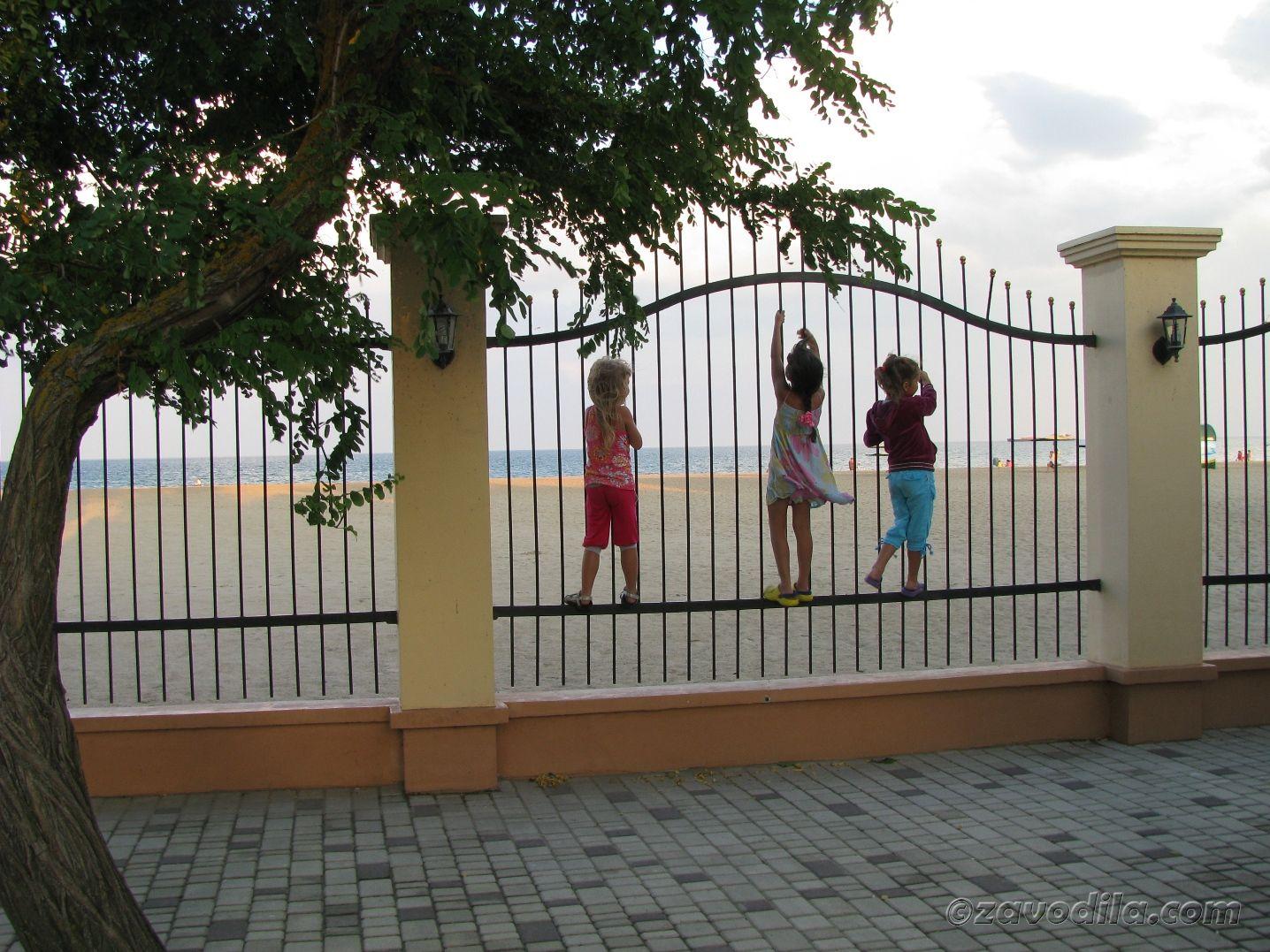 Затока, Одесская область, море