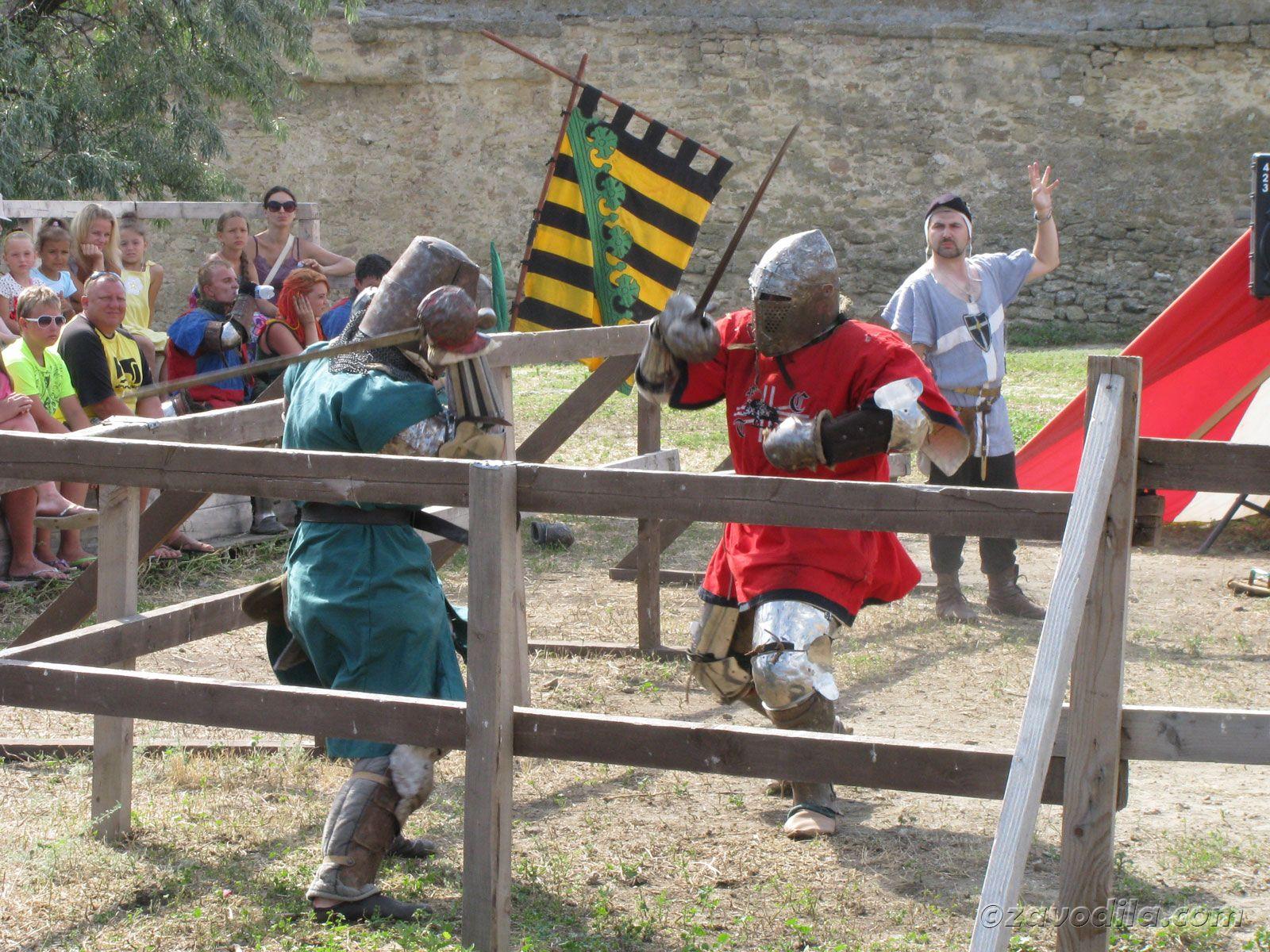 Белгород-Днестровская крепость или как мы попали на чемпионат по историческому фехтованию