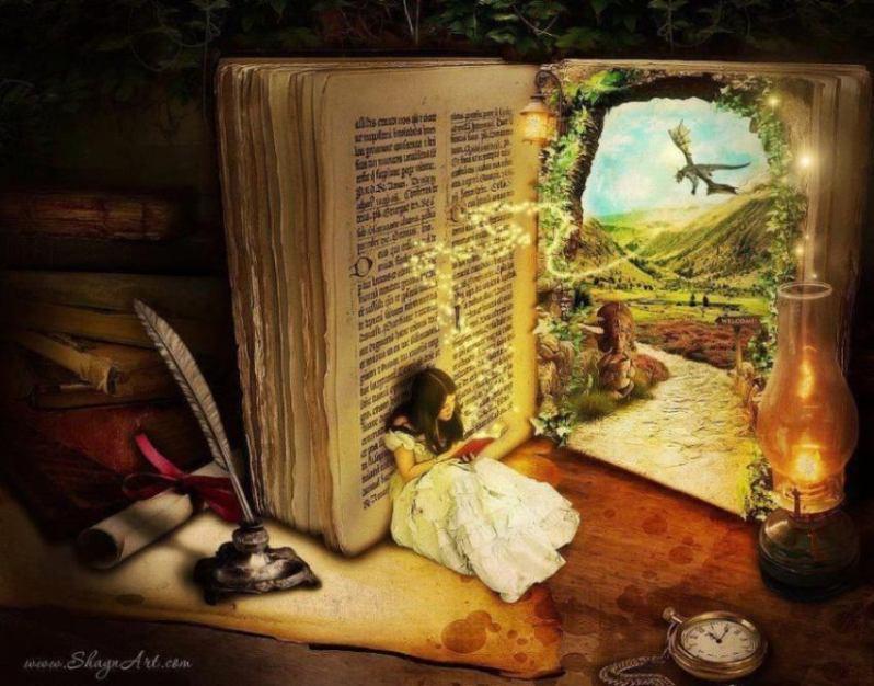 Чтение книг в современном мире