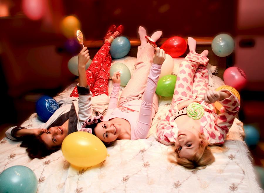 Пижамная вечеринка: сценарий, оформление
