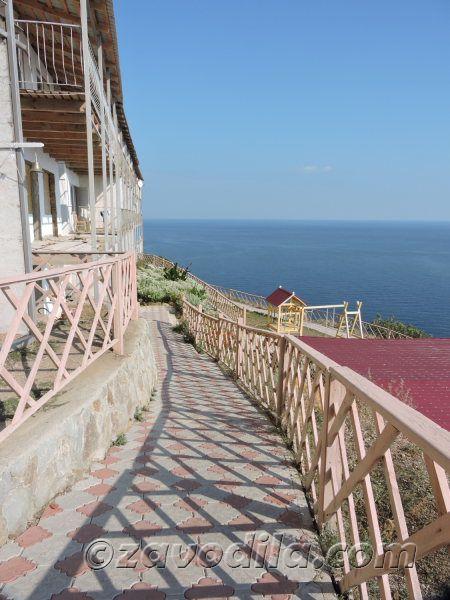 Православный пансионат в Рыбачьем, Крым