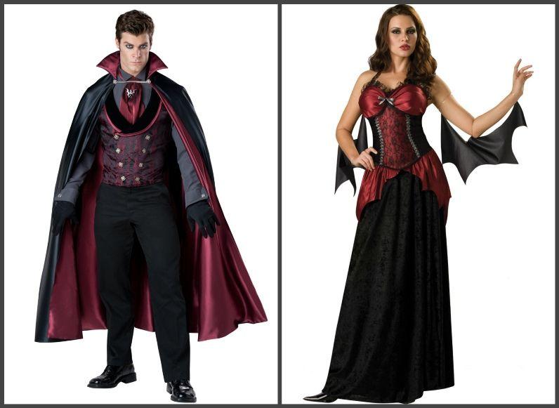 вампирская вечеринка костюмы