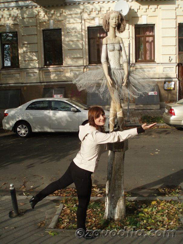 Марафон по Киеву. Интересные места