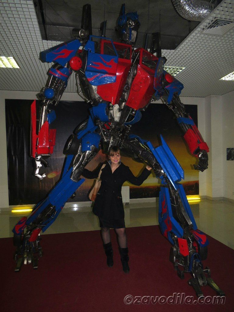 трансформеры - выставка в Киеве