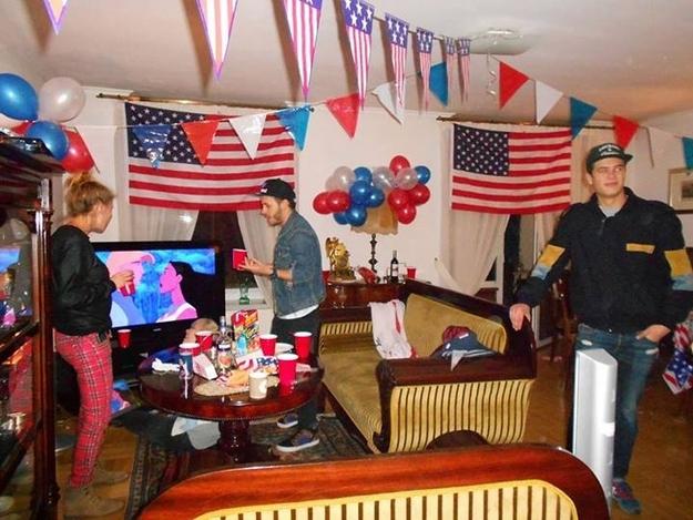 Вечеринка в американском стиле: оформление, сценарий, конкурсы