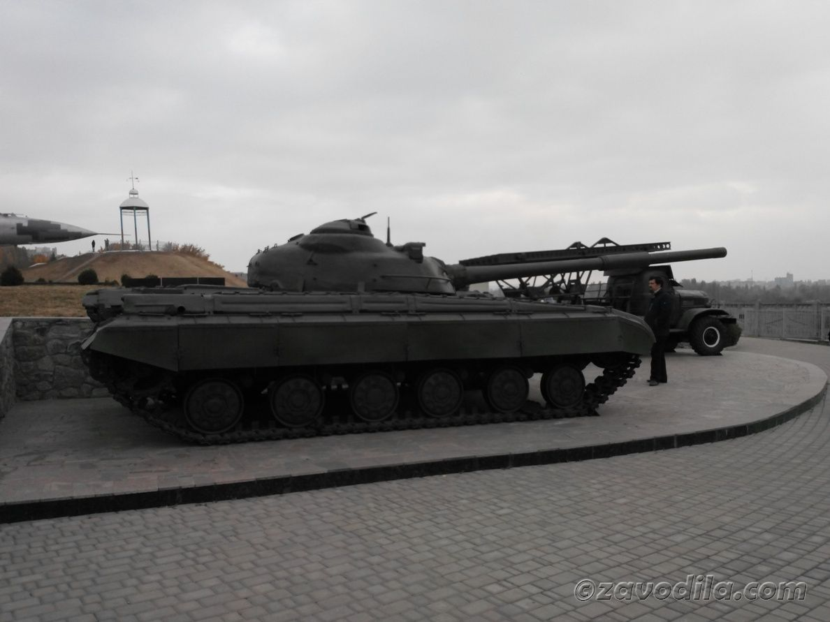 World of tanks и пушек - музей под открытым небом