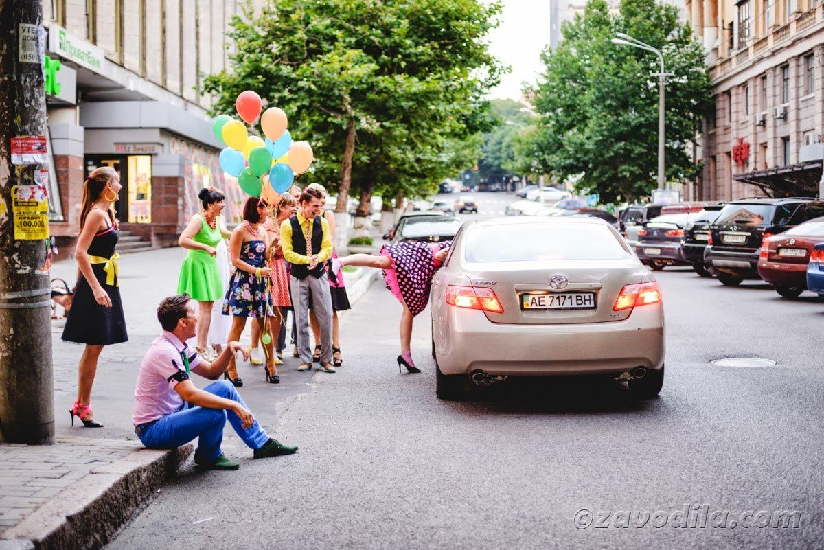 День рождения - вечеринка в стиле Буги-Вуги! (Стиляги)
