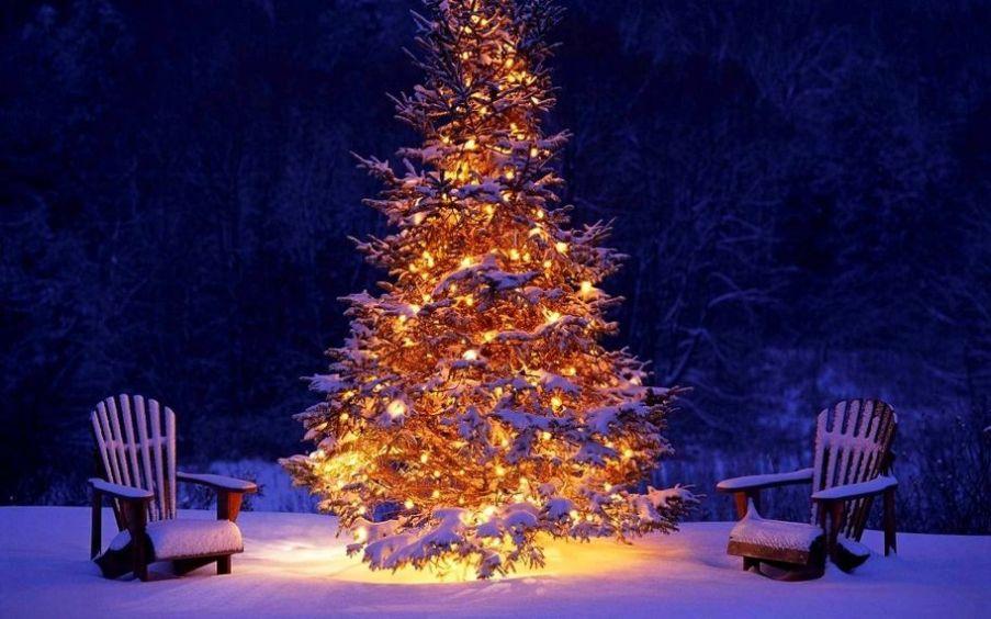 Рождество и тапочки с опушкой