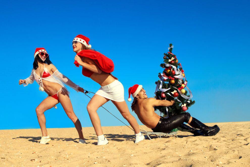 Самые необычные новогодние традиции - Австралия
