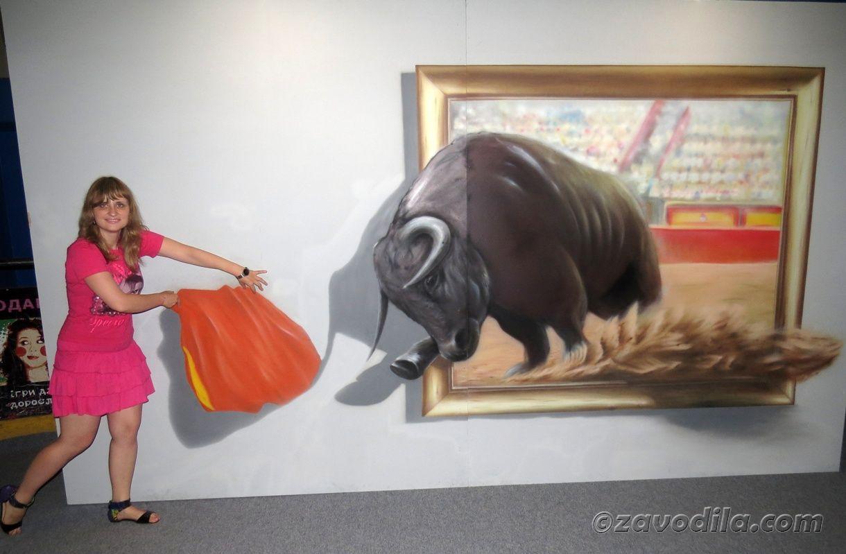 """""""Живые"""" картины - 3D выставка в Киеве"""