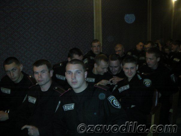 учеба курсанта милиции