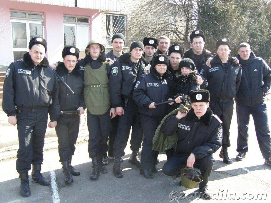 приколы учебы курсанта-милиции