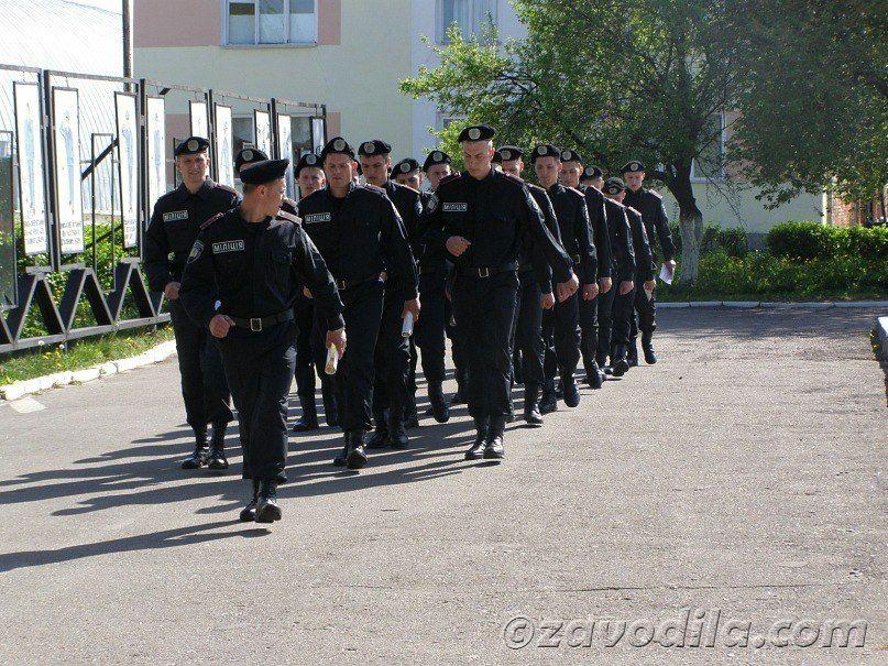 История учебы курсанта милиции