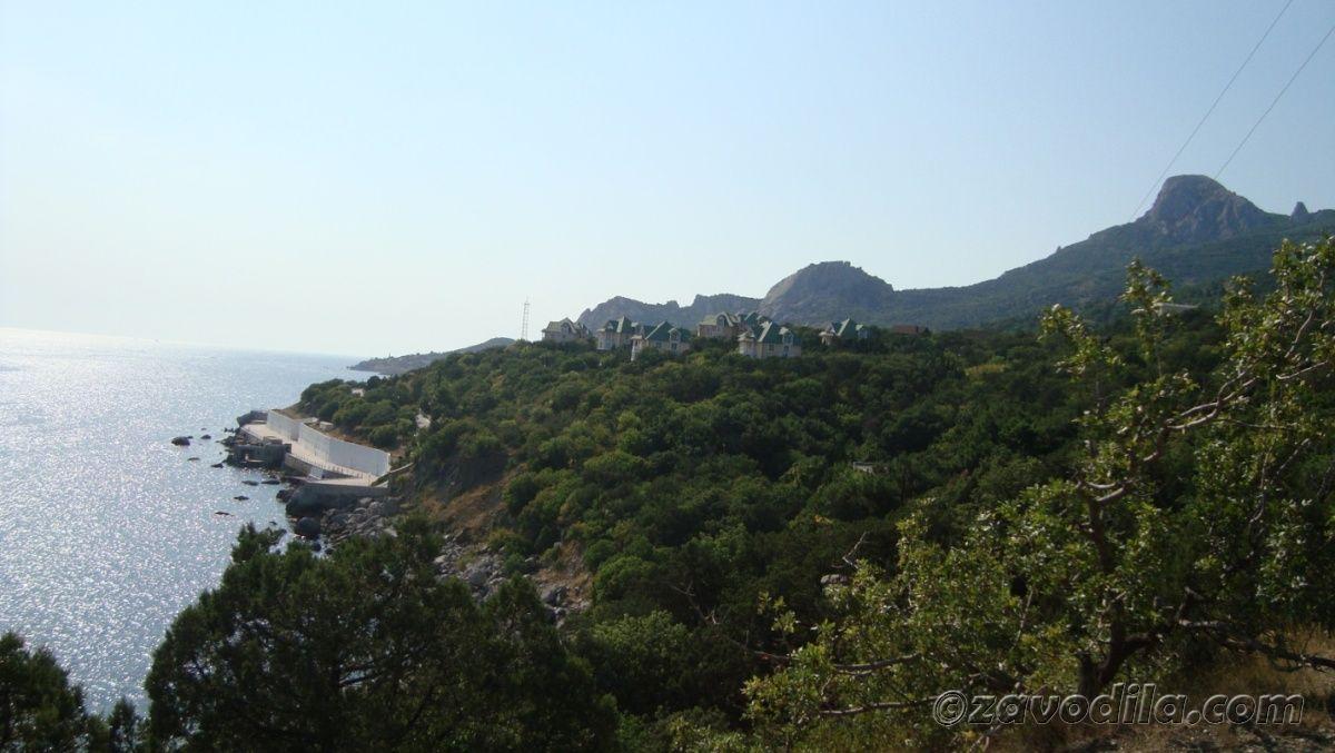Крым, Форос, путешествие автостопом, мыс Айя