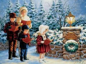 Рождественский хор, веселые истории