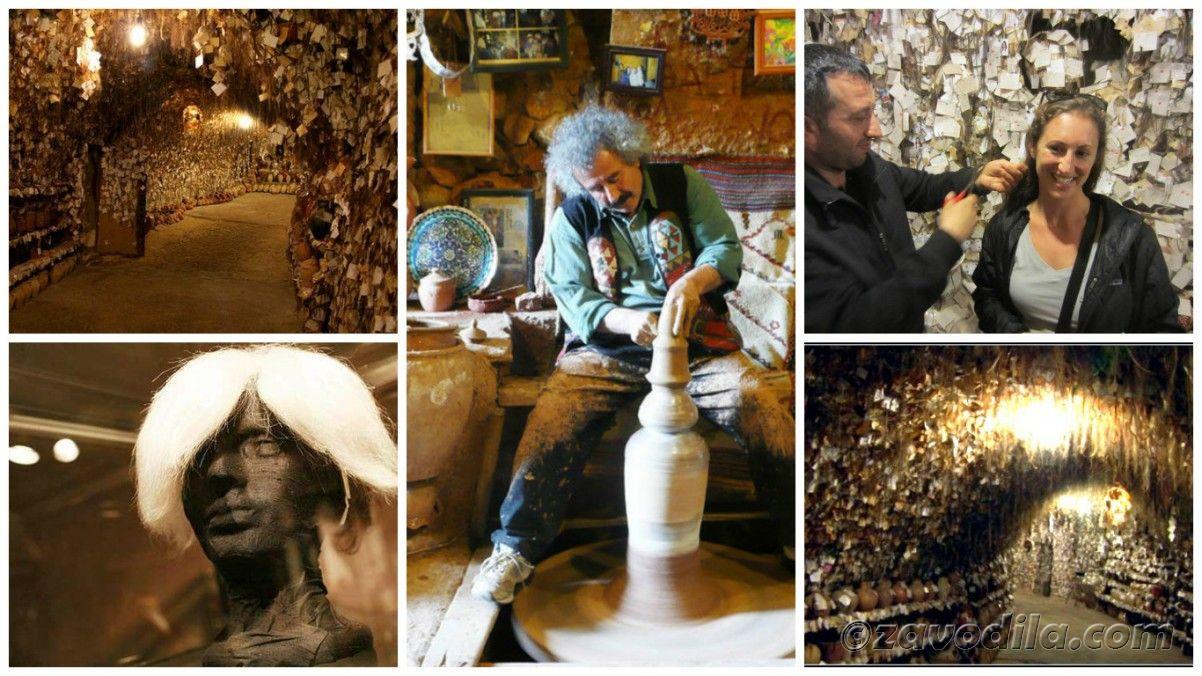 самые необычные музеи мира - Музей волос в Аваносе, Турция