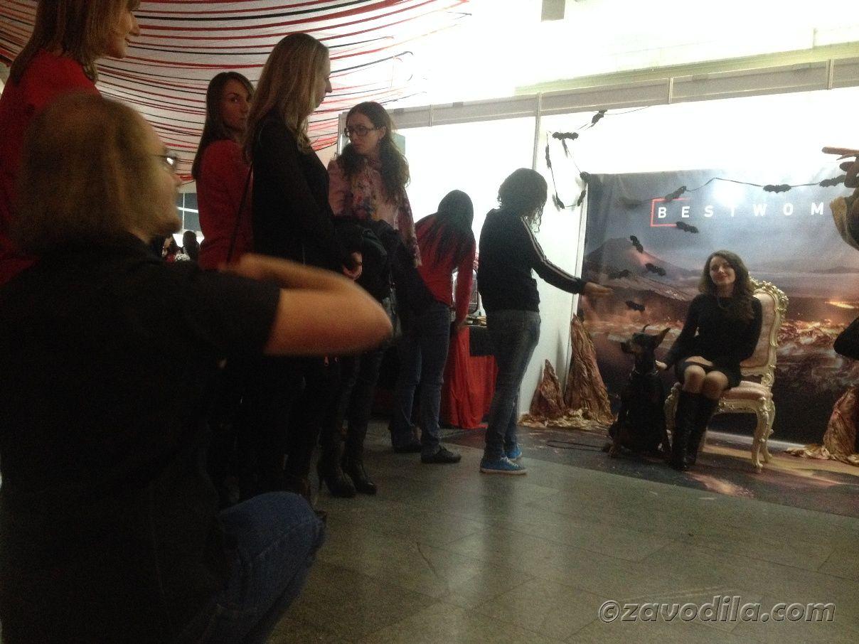 Девчачий фестиваль в Киеве Best woman + клубничка