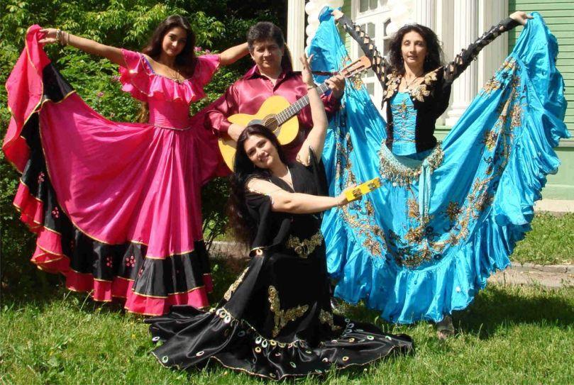 цыганская вечеринка, сценарий, костюмы, меню, конкурсы, оформление, декор, фото