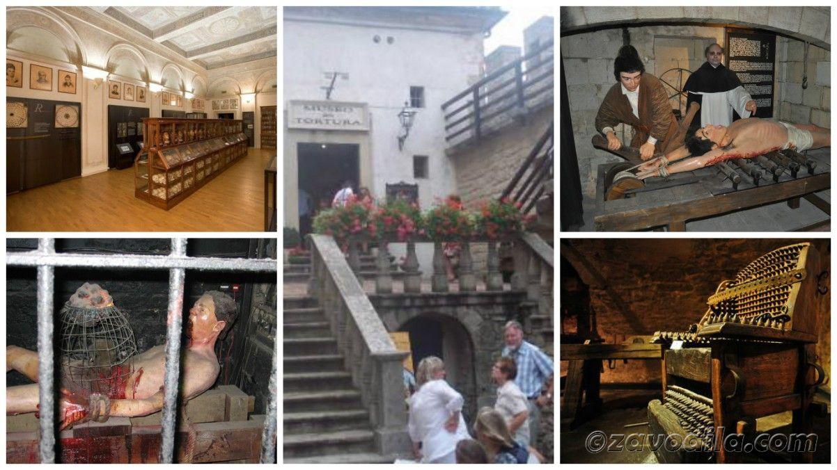 Самые страшные и жуткие музеи мира, музей средневековых пыток
