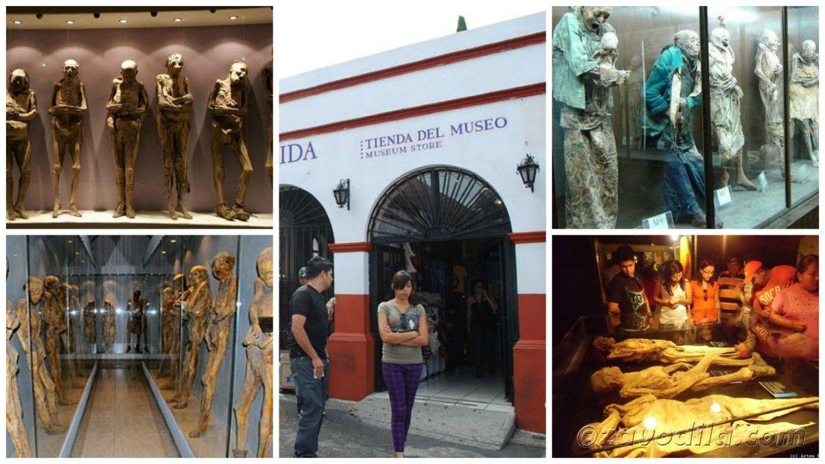 Самые страшные и жуткие музеи мира, музей мумий Мексика