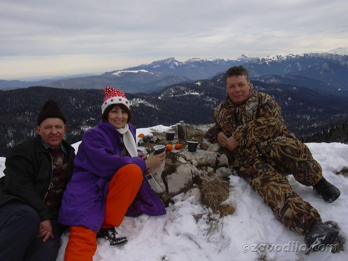 Рождество в горах Лагонаки