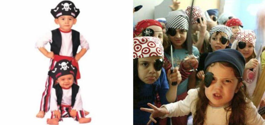 Костюм на пиратскую вечеринку для девочки своими руками фото 68