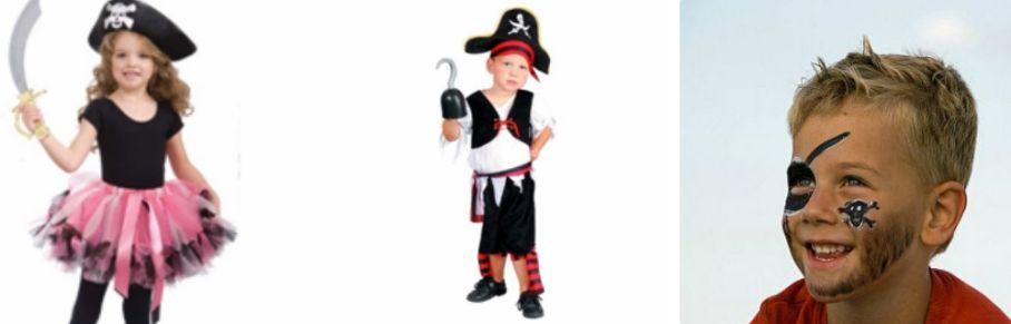 Как сделать пиратский костюм своими руками для девочки