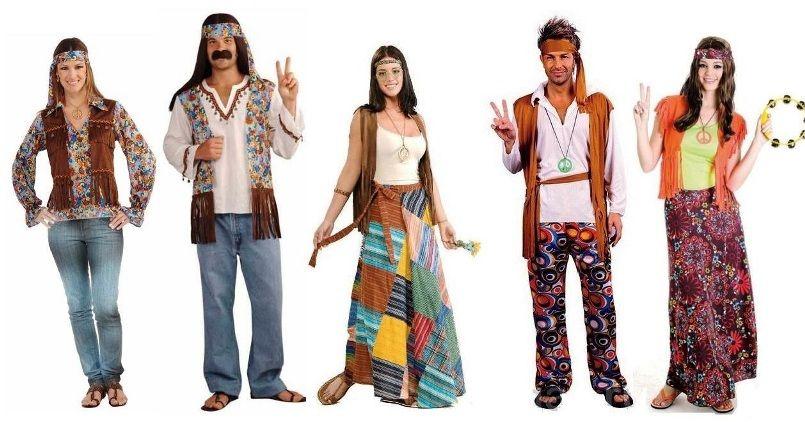 костюмы хиппи