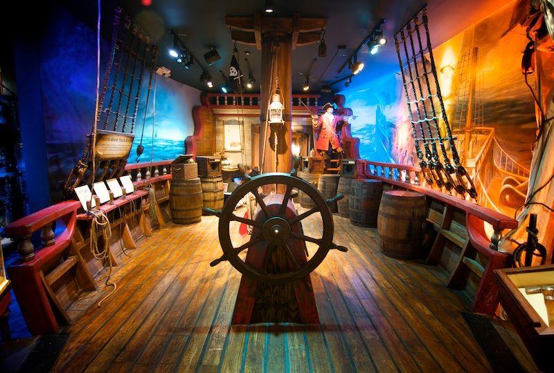 Музеи пиратов из разных уголков мира