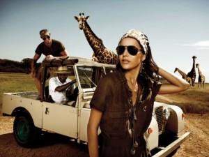 Африканская вечеринка, сценарий, костюмы