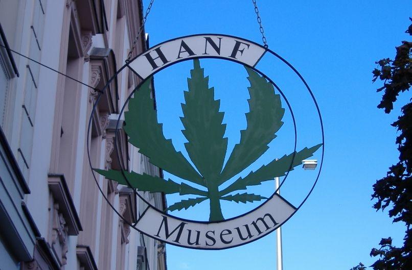 Музей конопли Амстердам