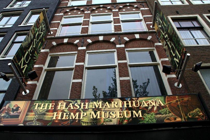 Амстердам: музей гашиша и марихуаны