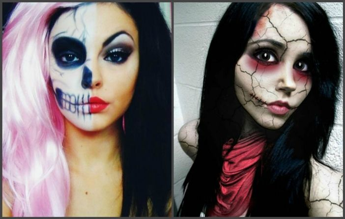 Идеи женского макияжа на Хэллоуин