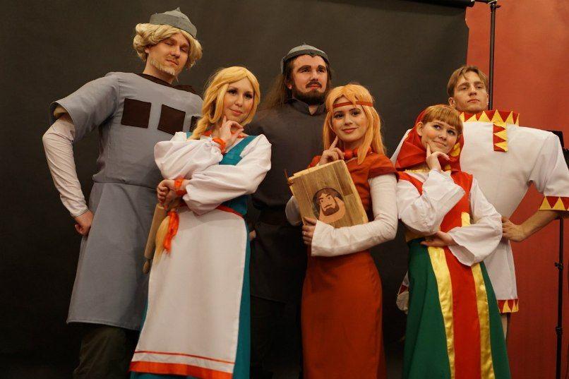 костюмы, персонажи, наряды