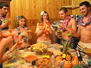 вечеринка в гавайском стиле - игры
