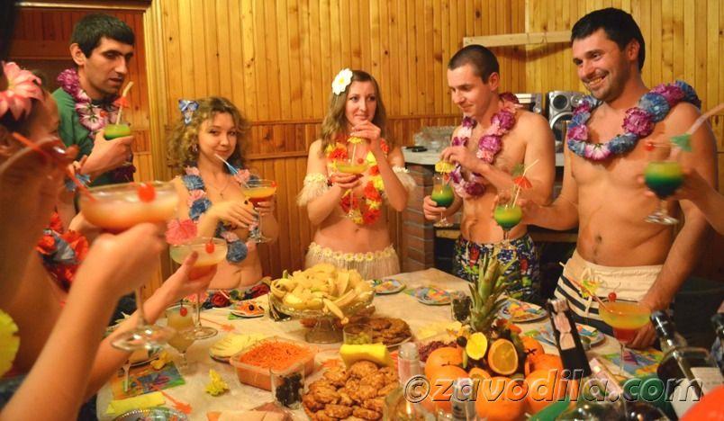 Конкурсы и игры для гавайской вечеринки