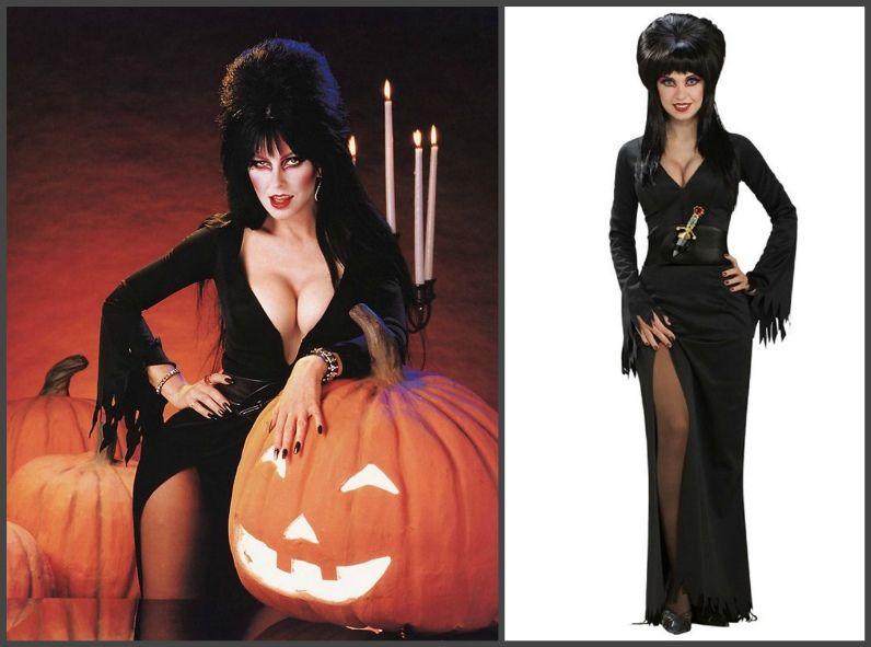 женский костюм на Хэллоуин своими руками