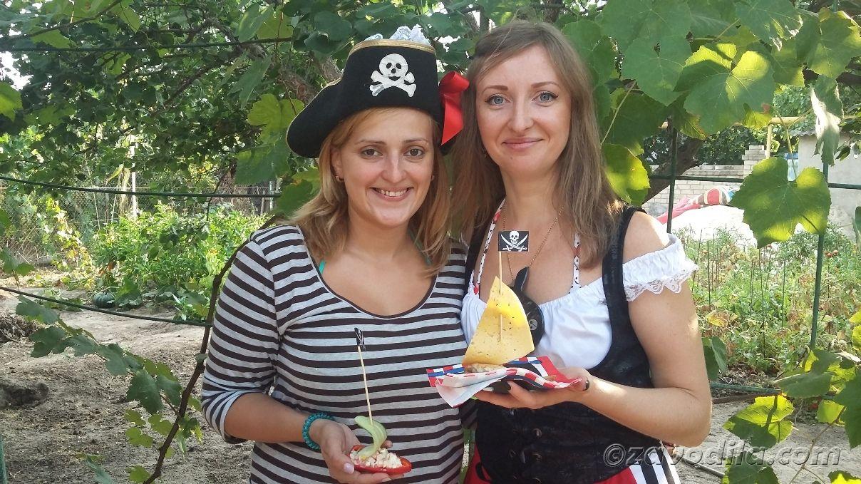пиратская вечеринка: сценарий, меню, фото