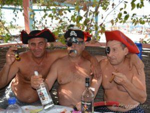 пиратская вечеринка-сюрприз
