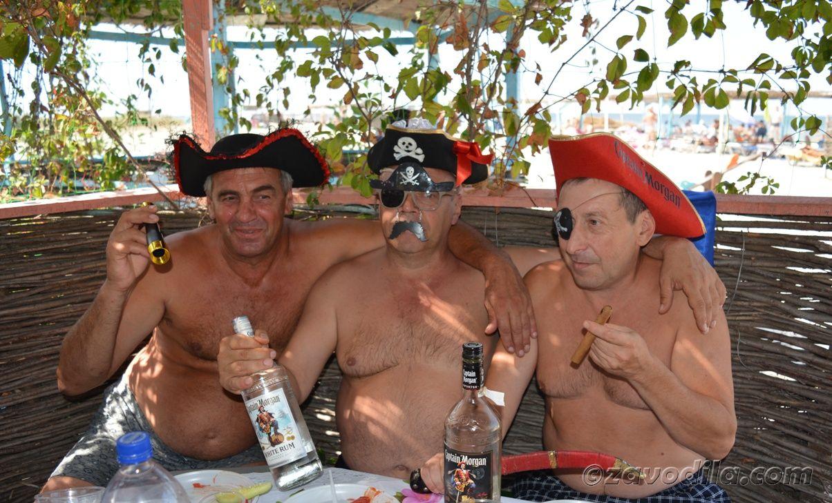 Пиратская сюрприз-вечеринка на острове