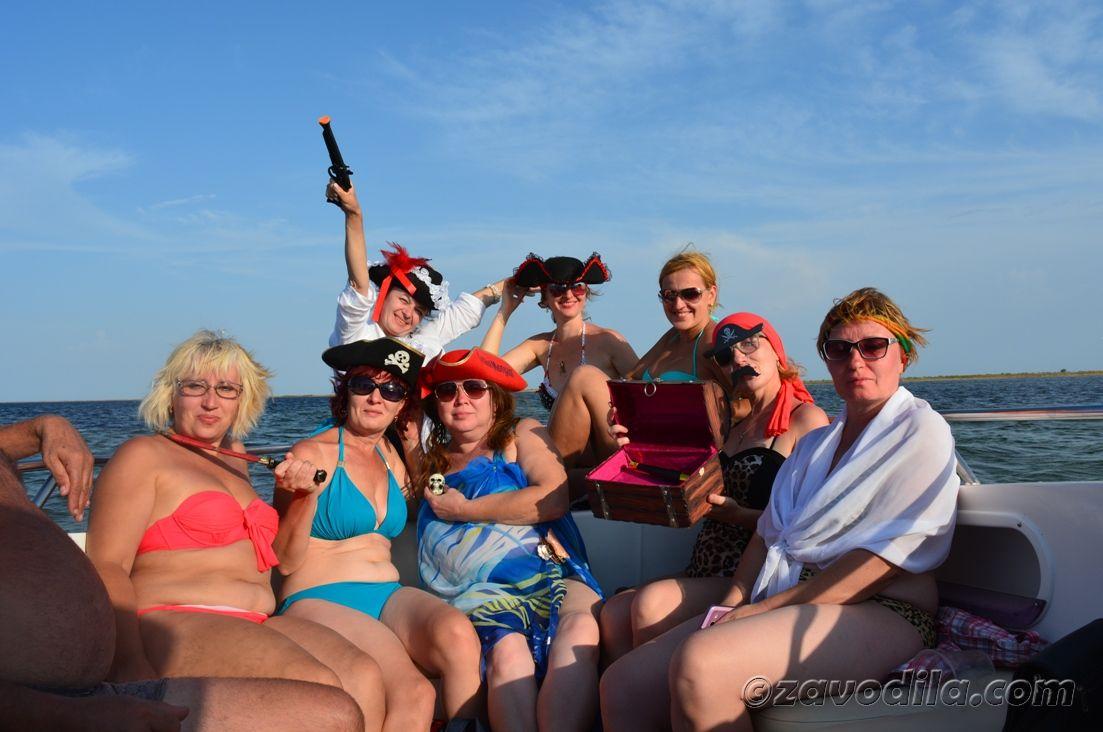 пиратская вечеринка своими руками