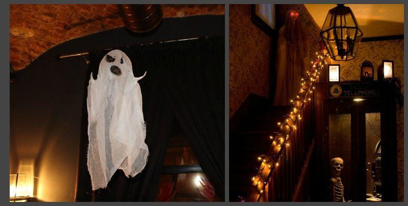 Приведение к хэллоуину своими руками