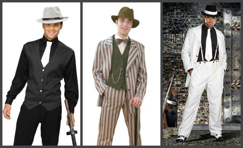 фото мужского гангстерского костюма
