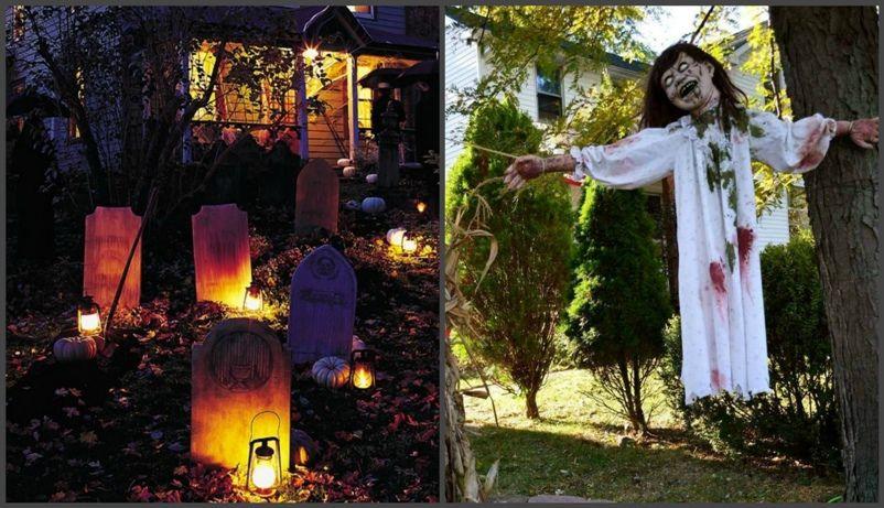 ведьма, могилы