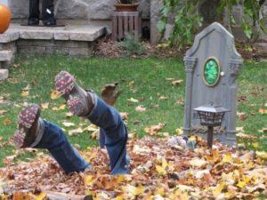 зомби из могилы