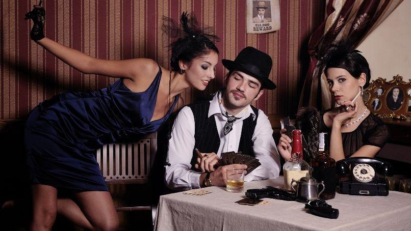 Гангстерская вечеринка: костюмы, фото